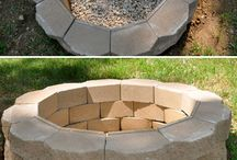 Outdoor fire pit idea
