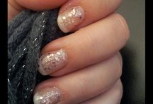 So girly' / Nails - Ongles - Manucure - Vernis ... #nails  #nail #ongle #manucure #manicure #french #vernis
