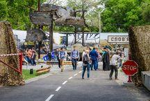 Первая выставка про АТО в Днепре! / Силами  активистов, волонтёров,бойцов и ОДА создана первая в Украине уличная экспозиция с реальными экспонатами из зоны АТО.