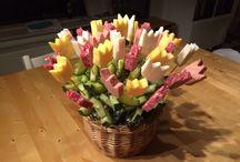 Traktatie / Bosje tulpen