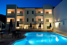 Family Hotel in Samos / Facing the emerald waters of the sun-kissed pool these family friendly bed & breakfast studios and apartments in the charming island of Samos in Greece provide all hotel comforts and a warm family environment which will provide you with everything you may need at any time of your stay.