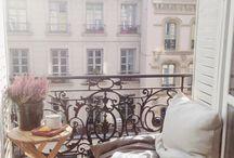 Francia erkély