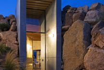 Architecture | Sleek, Modern Entrances / Ideas on how to accentuate entraces and walkways in architecture