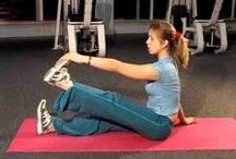 спина упражнения
