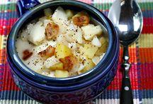 Soups, Chowdas, Stews
