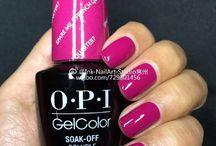 O.P.I gel color