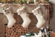 Mantle Mania / Dress up the centerpiece of your living room this season in festive style and learn ways to turn an empty (or unused) hearth into a dazzling masterpiece!