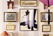 Wall ideas / by Jessica Brown-Feltman