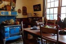 Beautiful rooms and porches / Beautiful kitchens, and living rooms that I love!