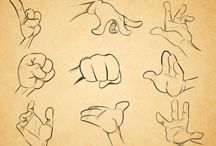 Comic hands