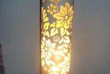 luminária +PVC+