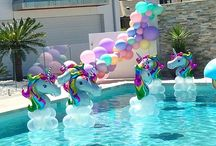 Brooke's pool party