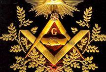 The Masonic Square & Compasses