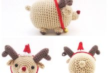 knitting - Christmas ornaments and stuff