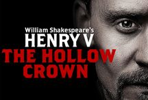 (A.C) The Hollow Crown / Shakespeares Plays,BBC, Hollow Crown1, Richard II, Henry IV Part1&2 and Henry V.  Hollow Crown 2, War of the Roses,  Henry V1, Richard III