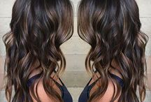 color for long hair brunettes / Hair styles