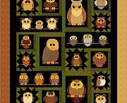 My whoo knows bom 2013/14 / Blocks I make for this Fat Cats design