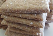 Sprouted Flour Crackers