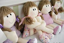 bonecas de pano / by Yvone Ferreira
