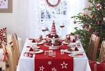 Toalhas de mesa para natal