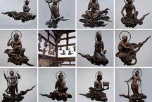 雲中供養菩薩像