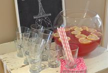 food for Paris chic party / by holly lock