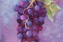 Art: Fruit and veggies