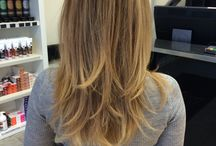 Hair / Hair color, cut and styling