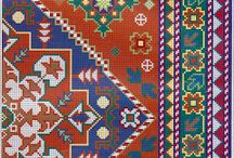 Embroidery - Cross Stitch - Rugs / by Maya Heath