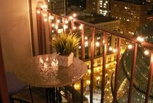 Balcony inspiration / Decorations
