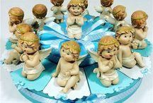 bomboniere con angeli