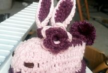 Crochet Baby Bunny House Slippers
