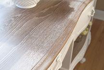 Eikehout en white wax