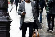 Men's fashion outfit winter