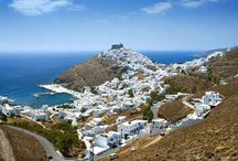 Astypalaia island, Greece / Astypalaia, is a Greek island with 1,334 residents, it belongs to the Dodecanese, an island group of twelve major islands in the southeastern Aegean Sea.