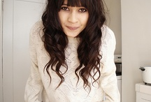 Bangs & Curly Hair / Talking myself into getting them. . .