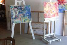 Atelier und Wohnhaus / Mein Atelier. www.suelzle-thoma.de