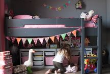 Girls room with inspiration / Kids rooms