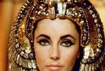 Cleópatra / Liz Taylor, Richard Burton, Rex Harrison / by João Roque
