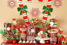 Christmas Candy Buffets
