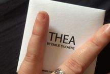 They talked about Thea on the net! / by Emilie Duchêne