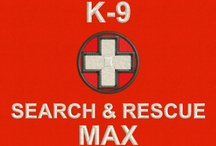 Search & Rescue Dog Vests