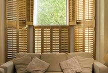 Window Shutters for the Living Room UK / Delightful shutters which can instantly improve your living room adding class and elegance.