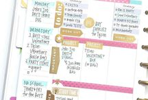 2017 planner theme: gold, peach, pink...etc.