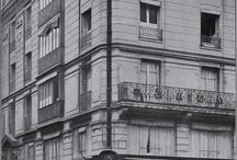 "Boutique Lanvin / 1889, on the corner of rue Boissy d'Anglas and rue du Faubourg Saint-Honoré, Jeanne Lanvin founded her fashion house. It was the success of her hat designs that led her to launch her own business. ""Lanvin (Mademoiselle Jeanne) Modes"" designed the hats of the most fashionable Parisiennes at the time."
