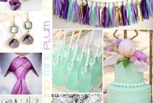 Lilas y violetas