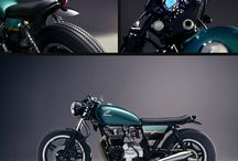 HONDA CB650 INSPIRATION / OUR FIRST PROPER CUSTOM PROJECT / CAFE RACER / BRAT / TRACKER