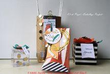 Boîtes, pochettes, sacs, cadeaux