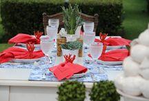 Mesas da Anfitriã - table setting - tablescape / tablescape, mesas decoradas, decoração de mesas, mesa de almoço, mesa de jantar, mesa de café da manhã, mesa de lanche