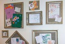display childs art